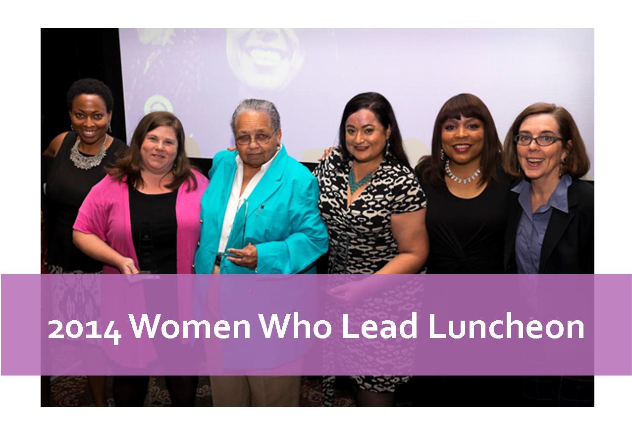 2014 Women Who Lead Luncheon